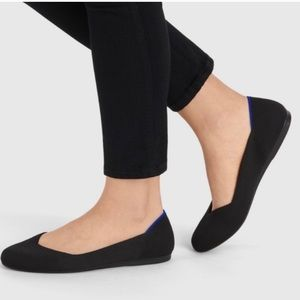 Roth's Black Flats - New in box - Size 7.5